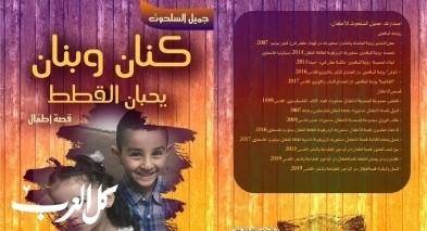 رائد محمد الحواري: فهم الطفولة في قصة كنان وبنان