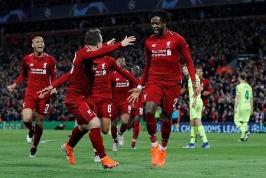 ليفربول يصنع المعجزة ويسحق برشلونة بأربعة أهداف