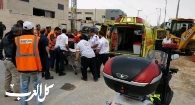 اصابة عامل بجراح خطيرة في حولون
