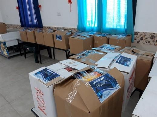 توزيع طرود غذائية للعائلات المحتاجة في الحجاجرة