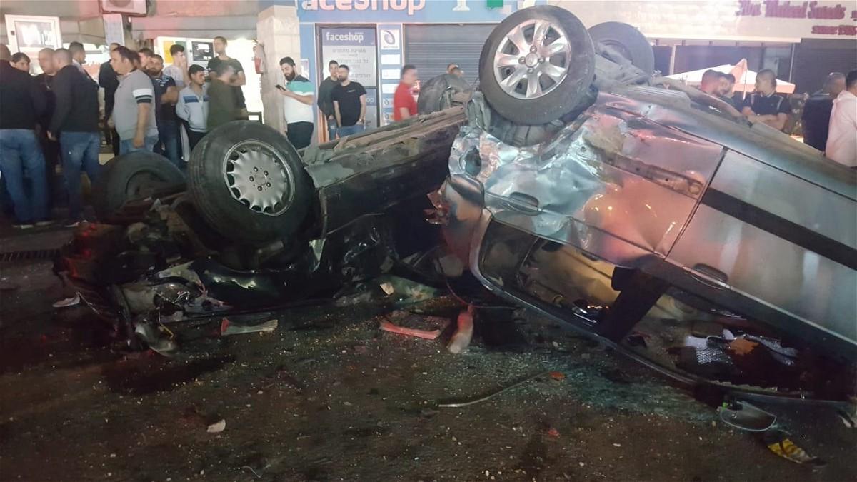 كفرياسف: اصابة 4 اشخاص بحادث طرق مروع