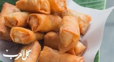 مقبلات رمضان: سبرينغ رول بالدجاج