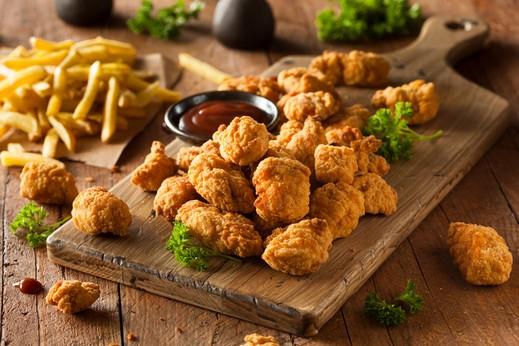 أطيب المقبلات: بوب كورن الدجاج المقلي