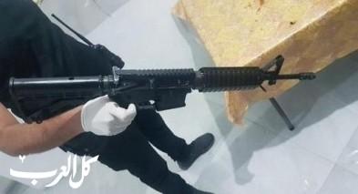 الناصرة: اعتقال 6 مشتبهين بعد ضبط بندقية M-16 في منزل