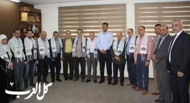 غزة: الصحة تكرم الوفد الطبي الأردني