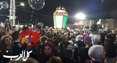 شفاعمرو: الالاف في اضاءة فانوس رمضان