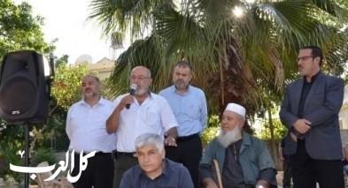الإسلامية تحيي ذكرى وفاة الشيخ درويش