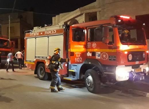 اندلاع حريق داخل منزل في بلدة الرامة