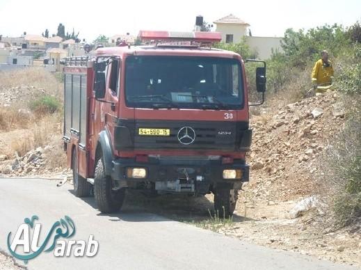 القدس: حريق في مكاتب وزارة التربية والتعليم