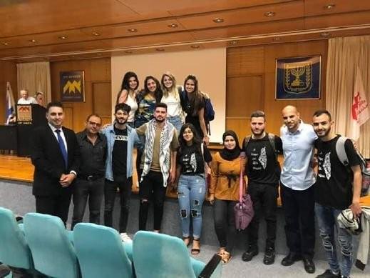 محاضرة للمحامي ناصر بجامعة حيفا عن مخطط الطنطور