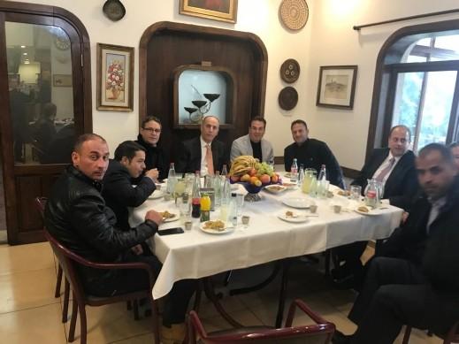 العلاقات الغوشية مع المملكة الأردنية الهاشمية عميقة