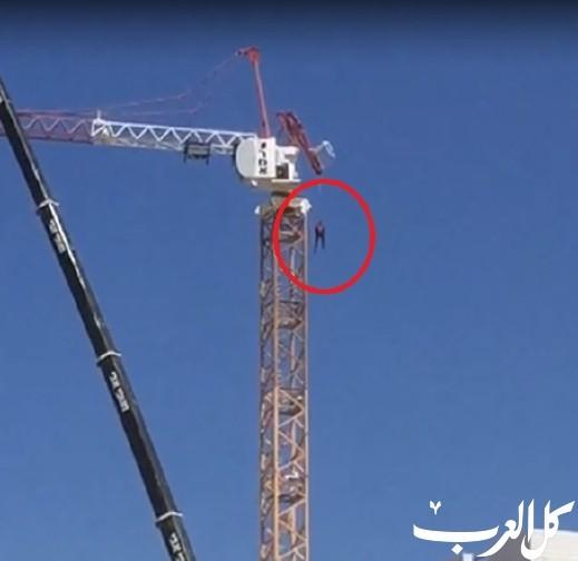 يفنه: مصرع 4 عمال أجانب جراء انهيار رافعة