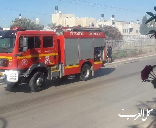 سكان من قلنسوة: طواقم الإطفاء تأخرت