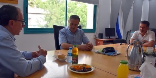 مدير المركز الطبي باده - بوريا في زيارة لطرعان