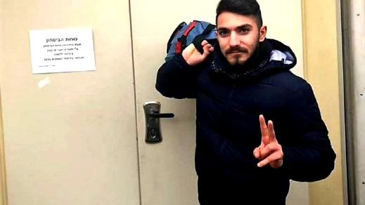 النائب اسامة السعدي يزور كمال زيدان في السجن