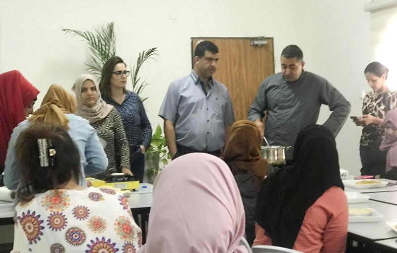 مجد الكروم: افتتاح دورة للحلويات الشرقية