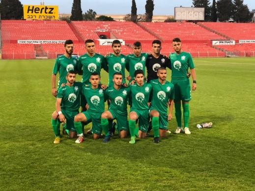 خسارة أشبال الاخاء أمام مكابي تل أبيب في النهائي