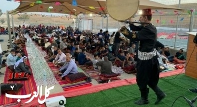 أمسية رمضانية مميزة بحضور المئات في ابو قرينات