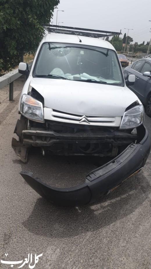 عرعرة: حادث طرق يسفر عن إصابة 6 اشخاص