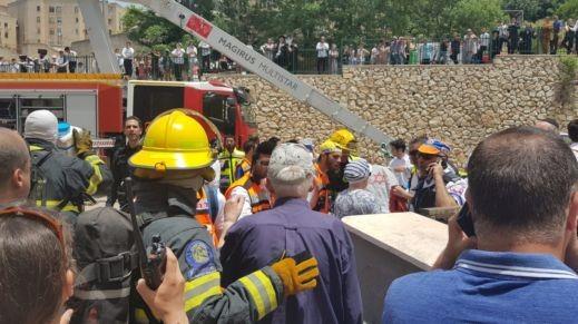 صفد: مصرع طفل واصابات إثر حريق