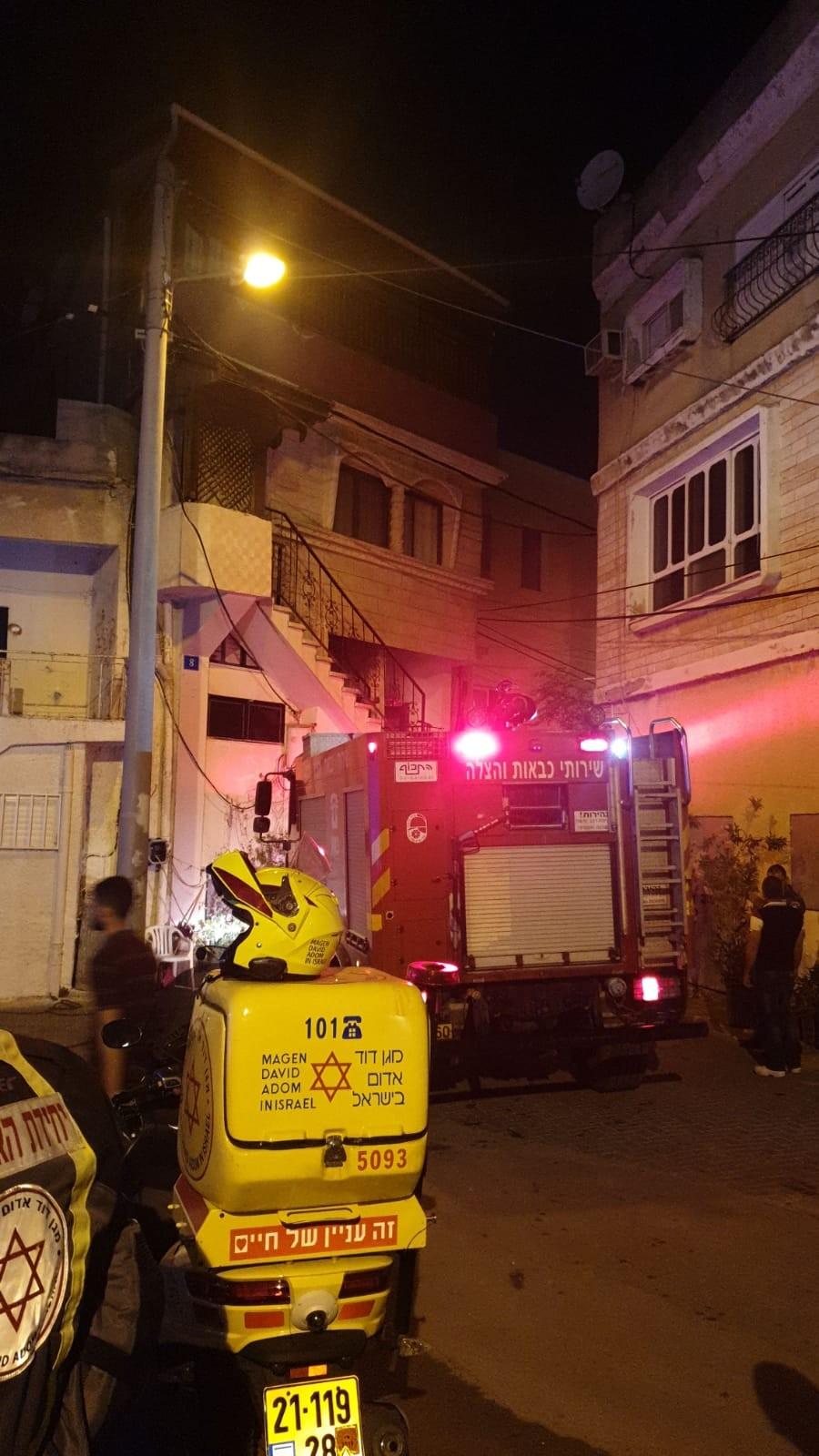 باقة الغربية: اضرام النار بمنزل المشتبه بجريمة قتل