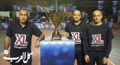 المجدلاوي بطل كأس xl 2019
