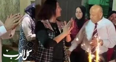 ميري ريغيف تشارك بافطار رمضاني في باقة الغربية