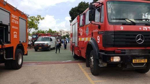 الناصرة: اندلاع حريق في صيدلية بحي الخانوق
