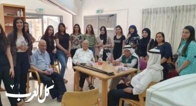 تعاون بين مسار الممتازين في كلية سخنين وجمعية نعمات
