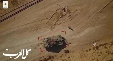 الجهاد الاسلامي يوثق استهداف دبابة اسرائيلية