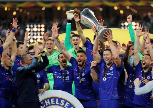 تشيلسي يسحق آرسنال ويتوج بلقب الدوري الأوروبي