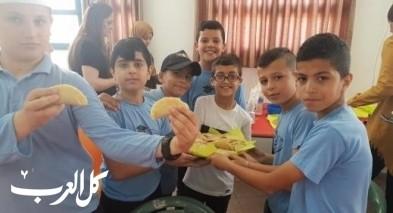 فعالية لشهر رمضان المبارك في مدرسة مرشان الابتدائية