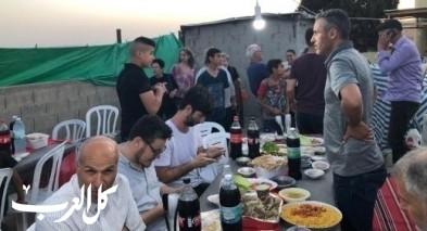إفطار جماعي عربي يهودي في قرية أم الحيران بالنقب