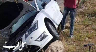 4 إصابات في حادث طرق على شارع 754 قرب كفركنا