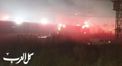 أم الفحم: النيران تلتهم العشرات من الدنومات