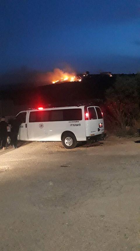 كفرمندا: اندلاع حريق هائل في حي المعاصر
