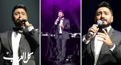 تامر حسني يتألق بحفله في دبي- صور