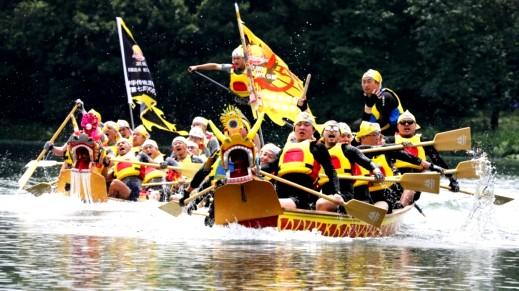 صور: مهرجان قوارب التنين في الصين