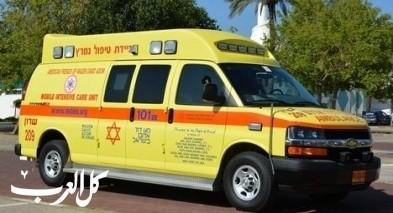 إصابة مسن جراء تعرضه للغرق ببركة في تل أبيب
