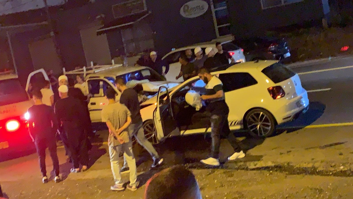 اصابة 4 اشخاص بحادث طرق بين الدالية وعسفيا