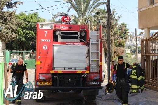 عكا: اندلاع حريق داخل بيت للمسنين