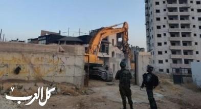 القدس: هدم مبانٍ بحجة البناء غير القانوني