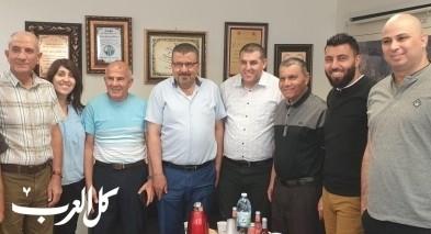 مدير التأمين الوطني يزور بستان المرج