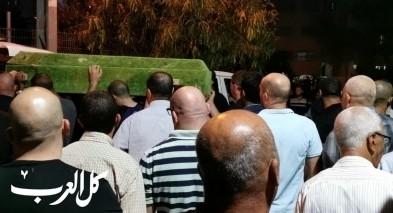 تشييع جثمان الشاب النصراوي تامر احمد ابو تايه
