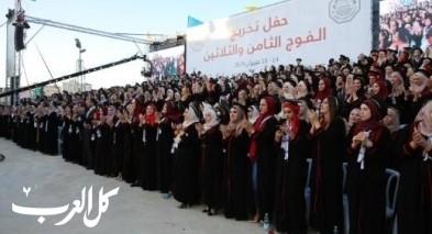 جامعة القدس تختتم فعاليات تخريج الفوج الـ38