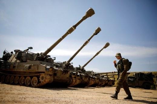 الجيش الاسرائيلي يعلن عن تمرين عكسري واسع النطاق
