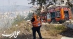 اندلاع حريق بأحراش في بلدة دبورية