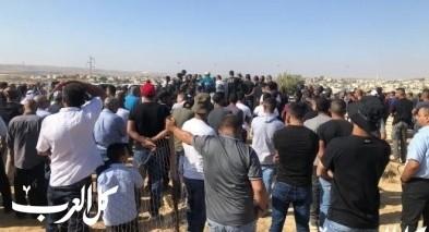 النقب: المئات في تشييع جثمان وسيم إبراهيم أبو شلظم