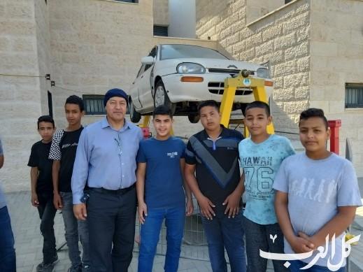 أبو تلول: فعاليات توعوية بمدرسة السلام