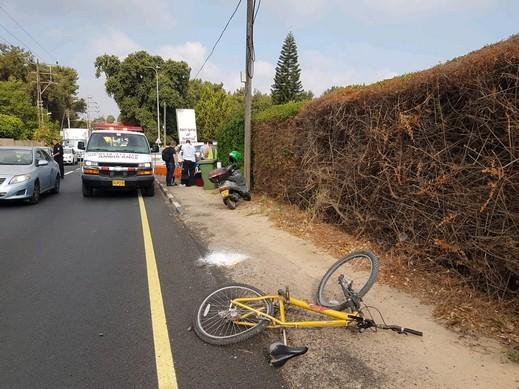 برديس حنا: إصابة متوسطة لراكب دراجة هوائية